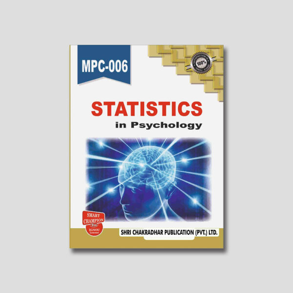 IGNOU MPC 006 Help Book (Statistics in Psychology)