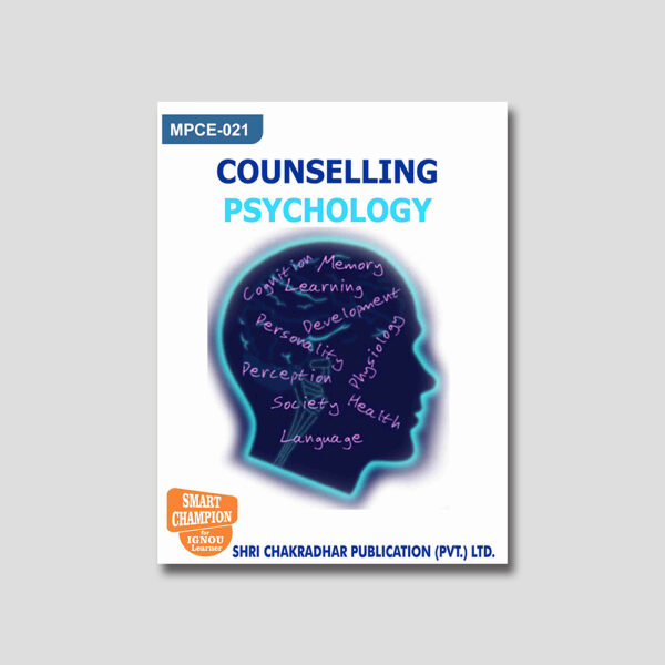 IGNOU MPCE 021 Help Book (Counseling Psychology)