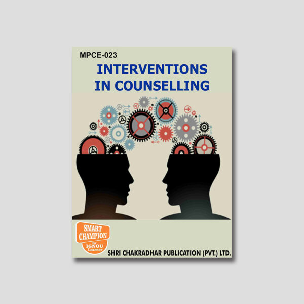 IGNOU MPCE 023 Help Book (Interventions in Counseling)