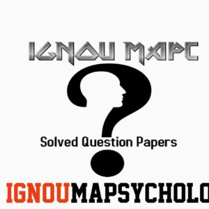 How to get IGNOU MAPC Solved Question Papers Pdf?